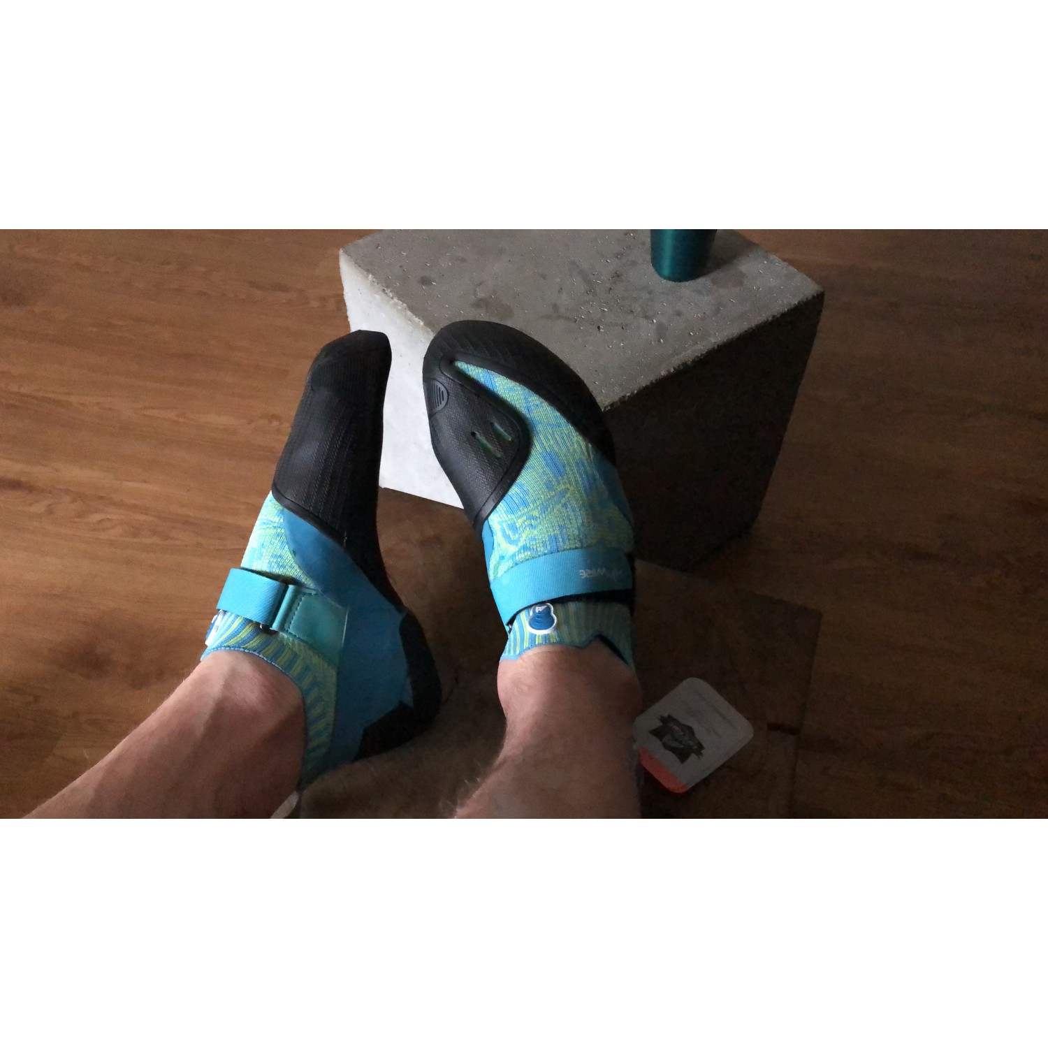 Mad Rock Haywire Chaussons d'escalade Teal | 4 (US)