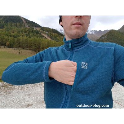 Image 2 de Dennis à 66 North - Grettir Zipped Jacket - Veste polaire