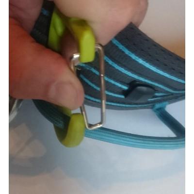 Image 2 de Manuel à Edelrid - SM Clip - Mousqueton porte broches à glace