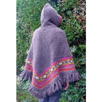 Image 7 de Karen à Sherpa - Women's Samchi Poncho - Veste en laine