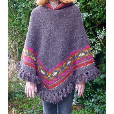 Image 3 de Karen à Sherpa - Women's Samchi Poncho - Veste en laine