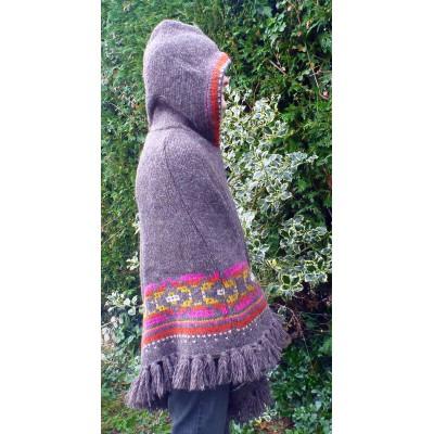 Image 5 de Karen à Sherpa - Women's Samchi Poncho - Veste en laine