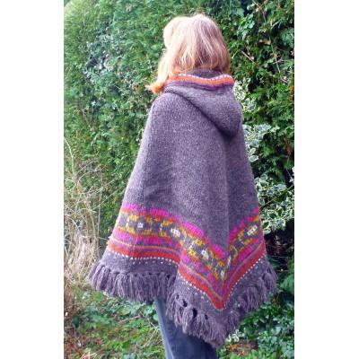 Image 2 de Karen à Sherpa - Women's Samchi Poncho - Veste en laine