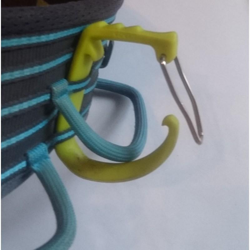 Image 1 de Manuel à Edelrid - SM Clip - Mousqueton porte broches à glace