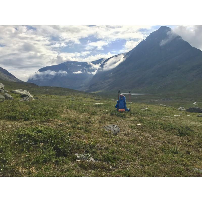 Image 1 de Katharina à Fjällräven - Women's Abisko 65 - Sac à dos de trekking