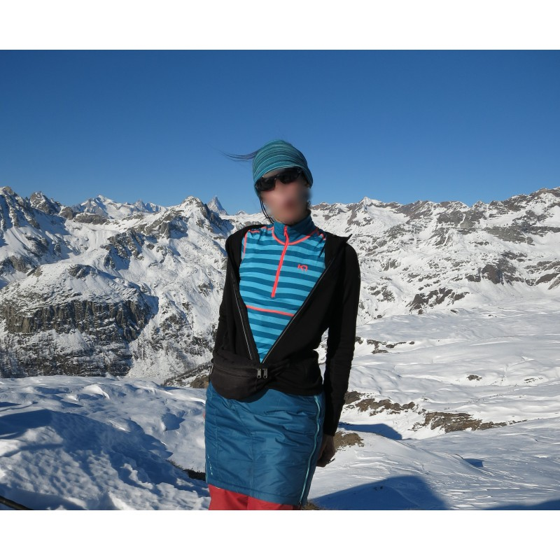 Image 1 de Christl à Kari Traa - Women's Ulla H/Z - Sous-vêtements en laine mérin