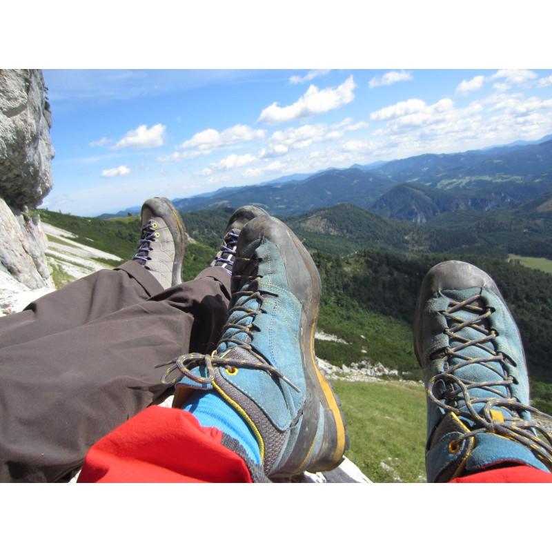 Image 1 de Samuel à La Sportiva - Boulder X Mid GTX - Chaussures d'approche