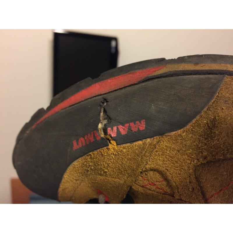 Image 1 de Karsten à Mammut - Ridge Low GTX Men - Chaussures d'approche