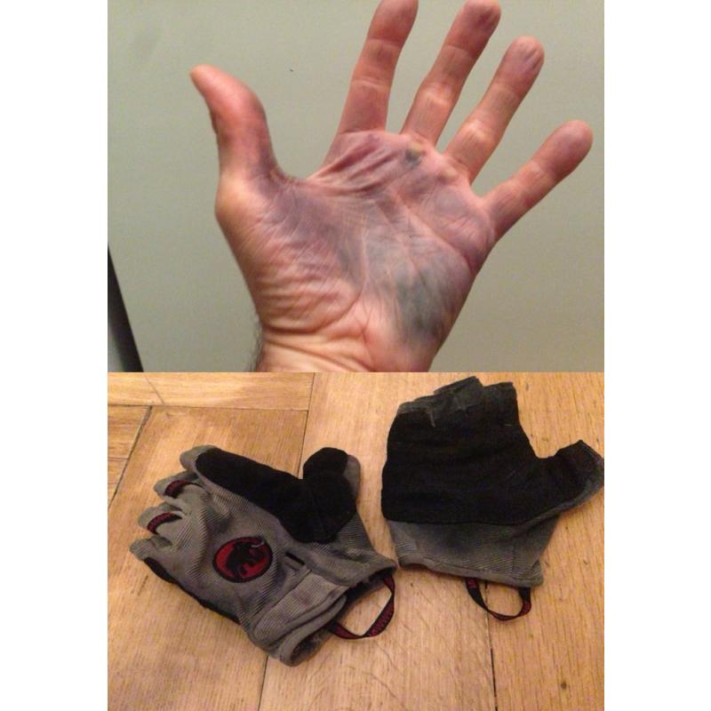 Image 1 de Frederik à Mammut - Trovat Glove - Gants de via ferrata