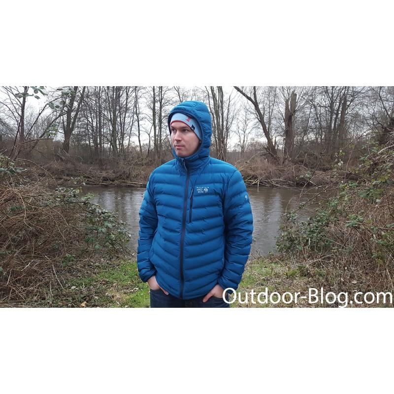 Image 1 de Dennis à Mountain Hardwear - Stretchdown Hooded Jacket - Doudoune