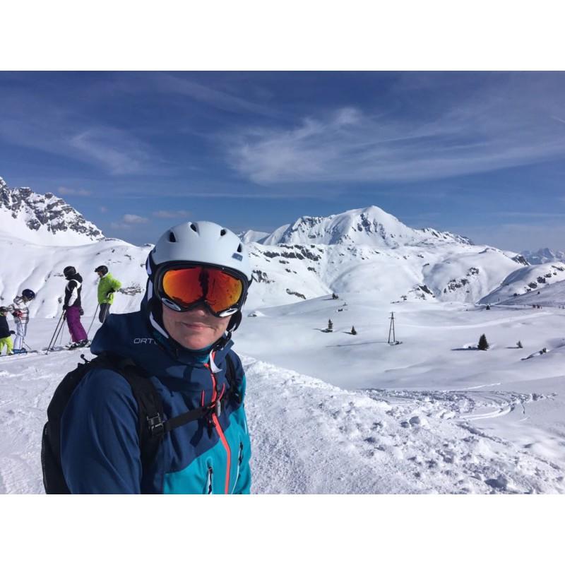 Image 1 de Anja à Oakley - Aframe 2.0 Prizm Torch Iridium - Masque de ski