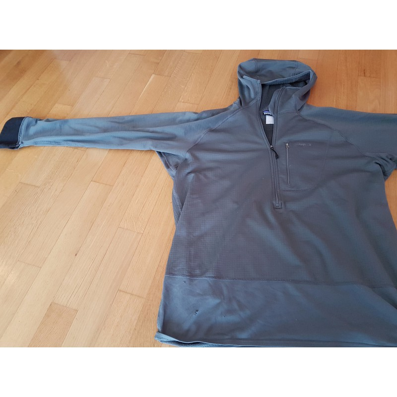 Image 4 de David à Patagonia - R1 Hoody - Pull-overs polaire