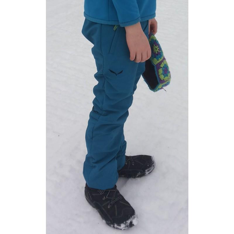 Image 2 de Aline à Salewa - Kid's Alpago 2 DST Pant - Pantalon softshell