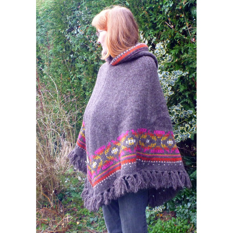 Image 8 de Karen à Sherpa - Women's Samchi Poncho - Veste en laine