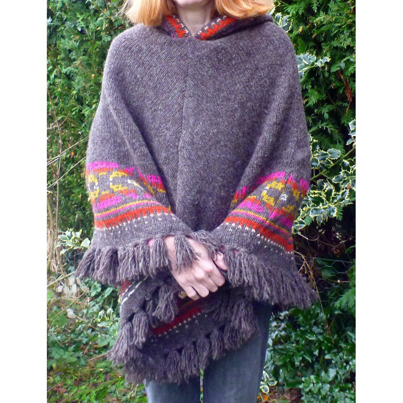 Image 4 de Karen à Sherpa - Women's Samchi Poncho - Veste en laine