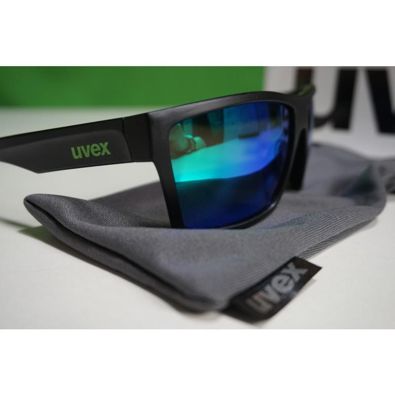 Image 2 de Ole à Uvex - LGL 29 Mirror Green S3 - Lunettes de soleil