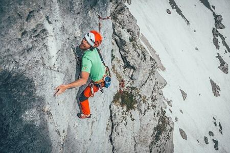 Alpinisme dans le massif du Wilder Kaiser