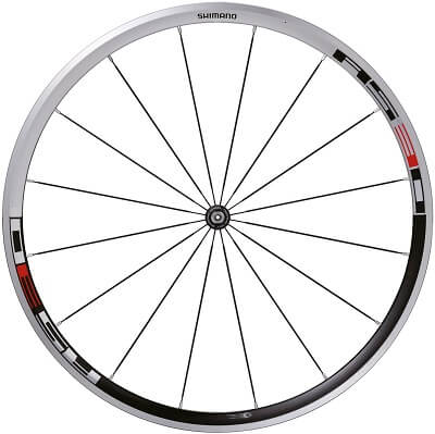 Roue à rayonnage radial