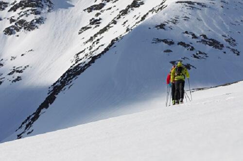 Un risque résiduel persiste toujours lors de randonnées à ski